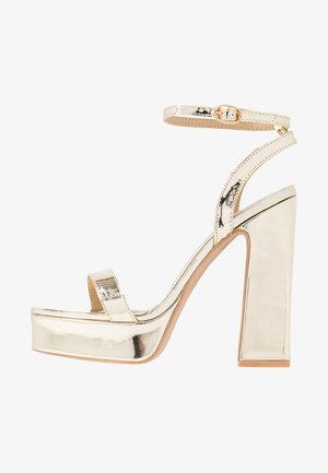 GIANNA - High Heel Sandalette - gold metallic
