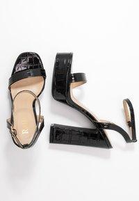 RAID - GIANNA - High heeled sandals - black - 3