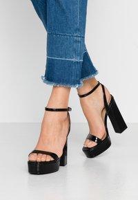 RAID - GIANNA - High heeled sandals - black - 0