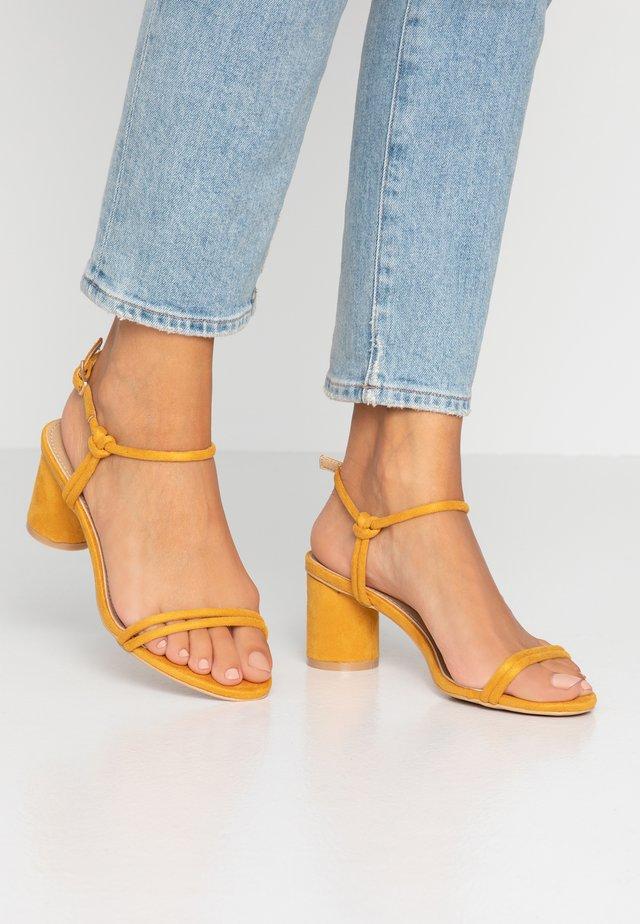 SANDRA - Sandals - mustard