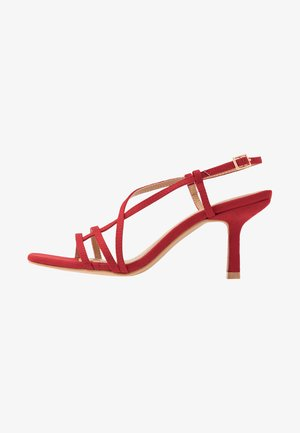 AADHYA - Sandals - red