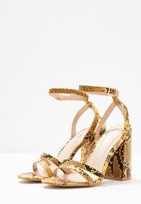 RAID - MEILANI - Sandály na vysokém podpatku - yellow - 4