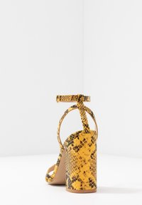 RAID - MEILANI - Sandály na vysokém podpatku - yellow - 5