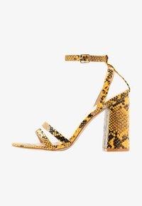 RAID - MEILANI - Sandály na vysokém podpatku - yellow - 1