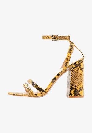 MEILANI - Sandaler med høye hæler - yellow