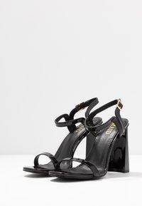 RAID - EMILEE - Sandály na vysokém podpatku - black - 4