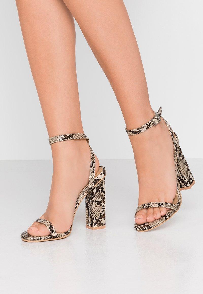 RAID - PARIS - High heeled sandals - beige