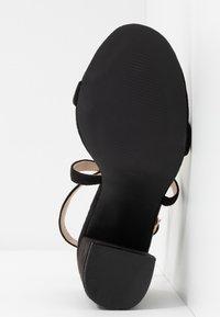 RAID - EGYPT - Sandály na vysokém podpatku - black - 6