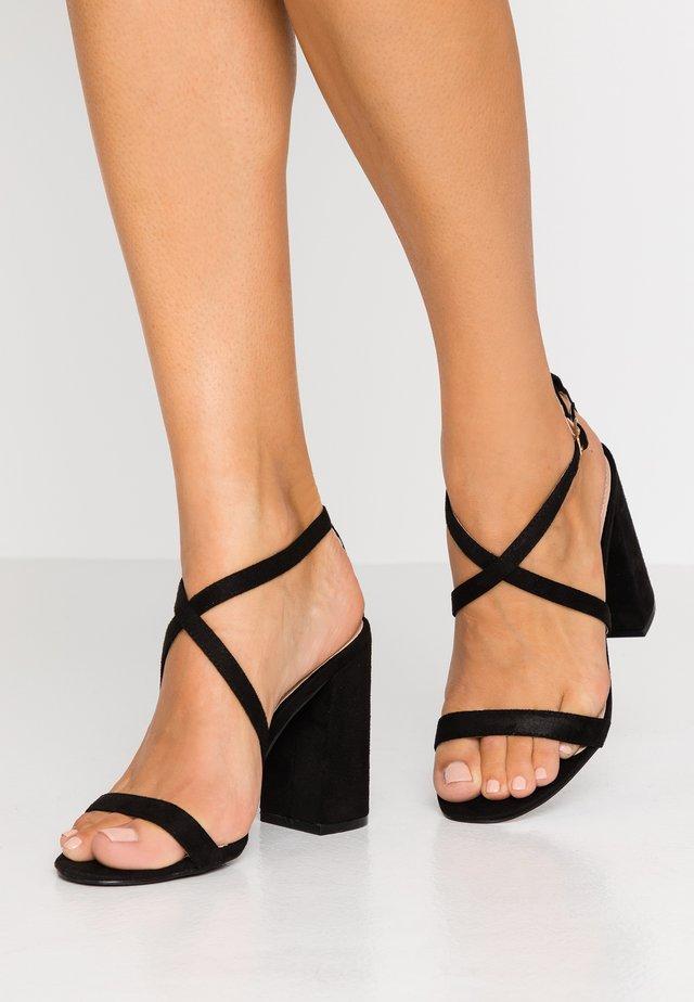 EGYPT - High heeled sandals - black