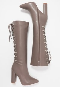 RAID - LENNOX - Boots med høye hæler - taupe - 3