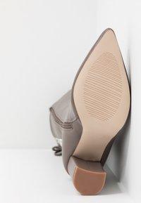 RAID - LENNOX - Boots med høye hæler - taupe - 6