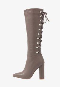 RAID - LENNOX - Boots med høye hæler - taupe - 1