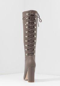 RAID - LENNOX - Boots med høye hæler - taupe - 5