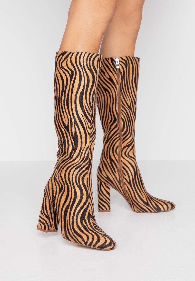 RAID - JOELLE - Stivali con i tacchi - tan
