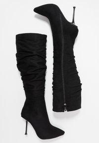 RAID - ZAYLEE - Stivali con i tacchi - black - 3