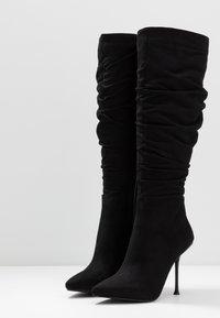 RAID - ZAYLEE - Stivali con i tacchi - black - 4