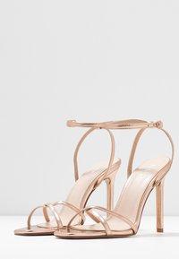 RAID - ANNIE - Sandály na vysokém podpatku - rose gold - 4
