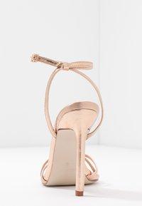 RAID - ANNIE - Sandály na vysokém podpatku - rose gold - 5