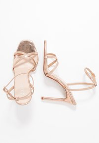 RAID - ANNIE - Sandály na vysokém podpatku - rose gold - 3