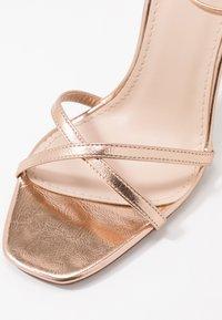 RAID - ANNIE - Sandály na vysokém podpatku - rose gold - 2