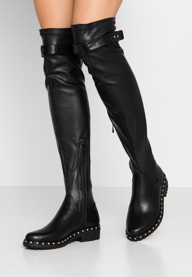 IVANNA - Over-the-knee boots - black