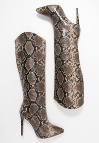 RAID - LAURITA - Boots med høye hæler - beige - 3