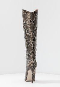 RAID - LAURITA - Boots med høye hæler - beige - 5