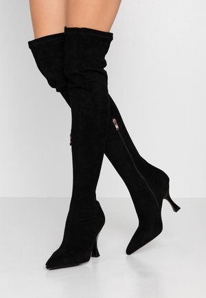 VALENTINA - Højhælede støvler - black