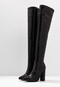 RAID - KRISTEN - Boots med høye hæler - black - 4