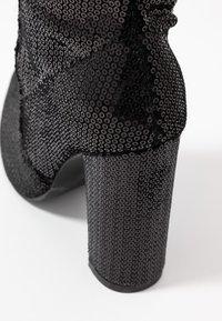 RAID - KRISTEN - Boots med høye hæler - black - 2