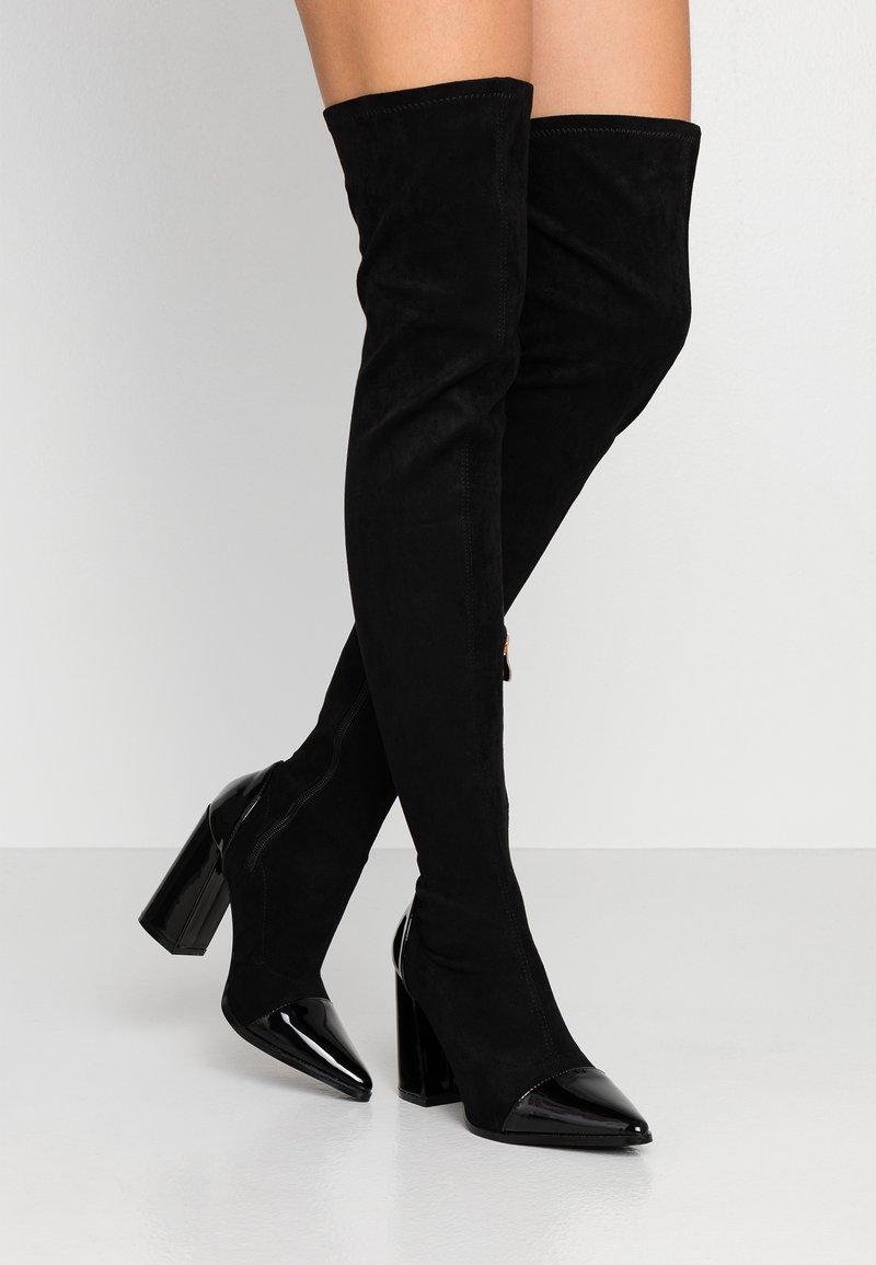 RAID - ALLIE - Boots med høye hæler - black