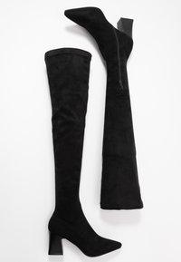 RAID - FELISA - Kozačky nad kolena - black - 3