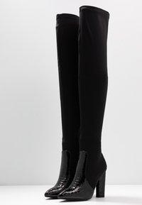 RAID - JUDINA - Boots med høye hæler - black - 4