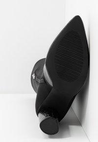 RAID - JUDINA - Boots med høye hæler - black - 6