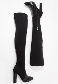 RAID - JUDINA - Boots med høye hæler - black - 3