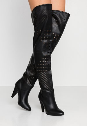 STECY - High heeled boots - black