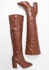 RAID - TERRY - Stivali sopra il ginocchio - tan - 3