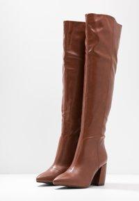 RAID - TERRY - Stivali sopra il ginocchio - tan - 4