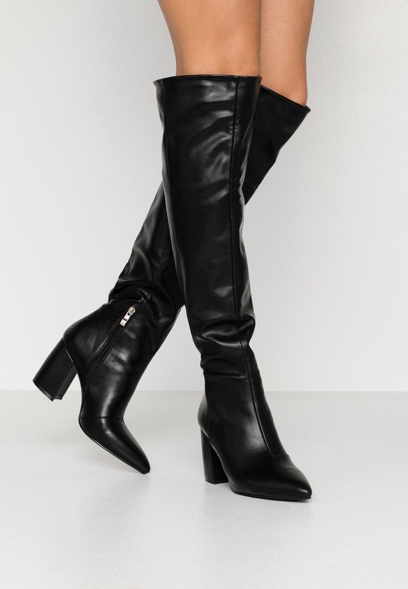 RAID - TERRY - Høye støvler - black