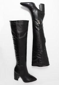 RAID - TERRY - Høye støvler - black - 3