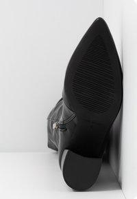 RAID - TERRY - Høye støvler - black - 6