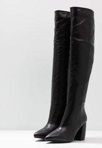 RAID - TERRY - Høye støvler - black - 4