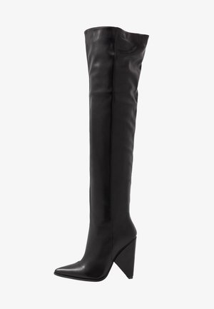 PLEXI - High heeled boots - black
