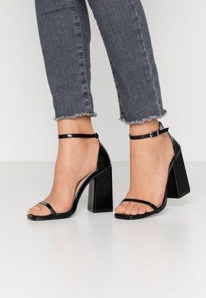 ANWEN - Sandales à talons hauts - black