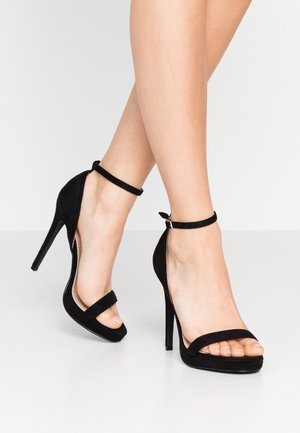 CRESSIDA - High Heel Sandalette - black