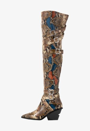 SWOON - Over-the-knee boots - rocco/multicolor