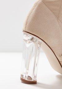 RAID - DEIDRE - High heeled boots - nude - 2
