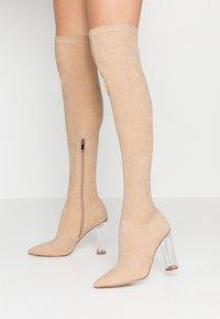 RAID - DEIDRE - High heeled boots - nude - 0