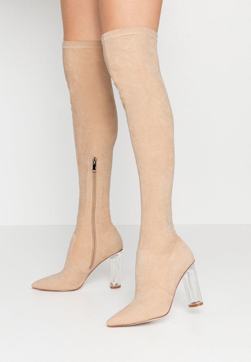 RAID - DEIDRE - High heeled boots - nude