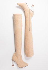 RAID - DEIDRE - High heeled boots - nude - 3